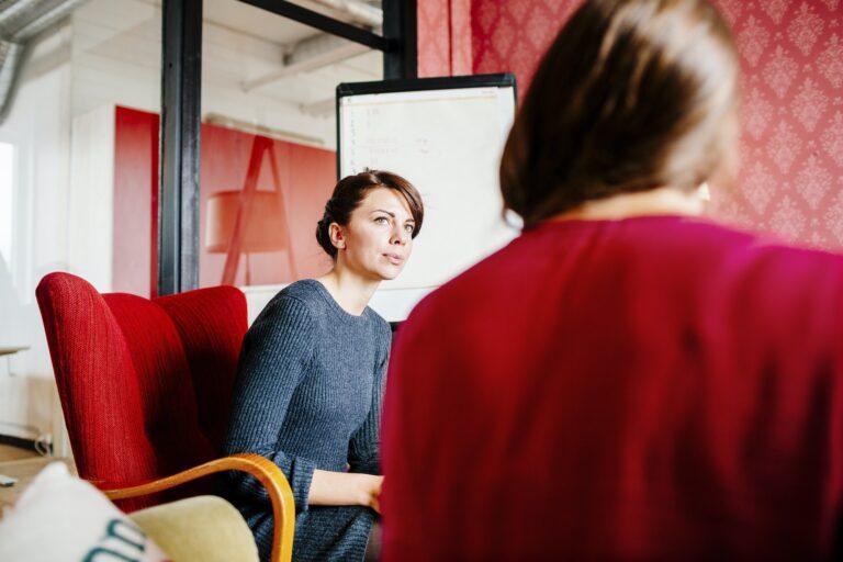 Businesswomen in meeting at office