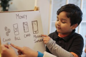 Money and kids