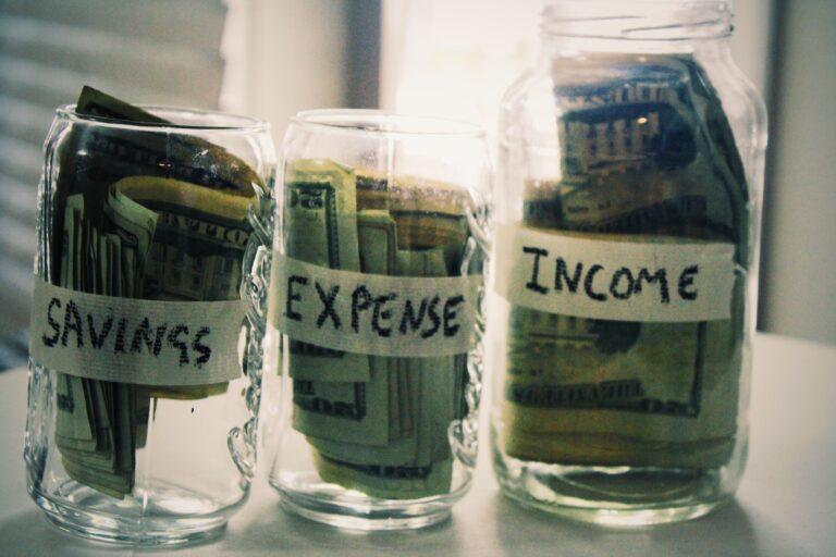 Saving Expenses Income