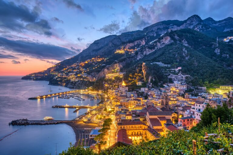 The beautiful village of Amalfi