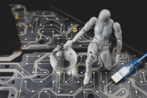 Cyber security and robot machine learning