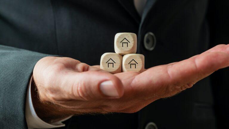 Real estate market conceptual image